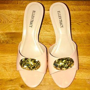 Ellen Tracy Kerry Jewelled Sandals